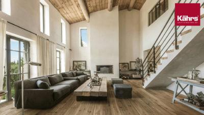 Kaehrs Katalog Decke und Wand Wohnzimmer